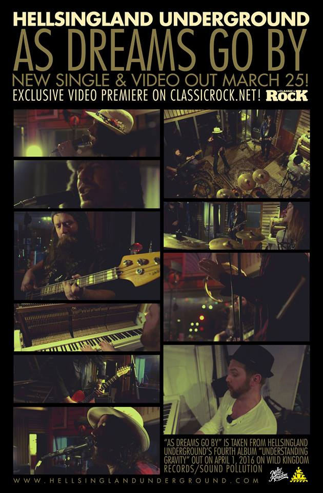 "NEW VIDEO PREMIERE, CLASSIC ROCK!, ""As Dreams Go By"""