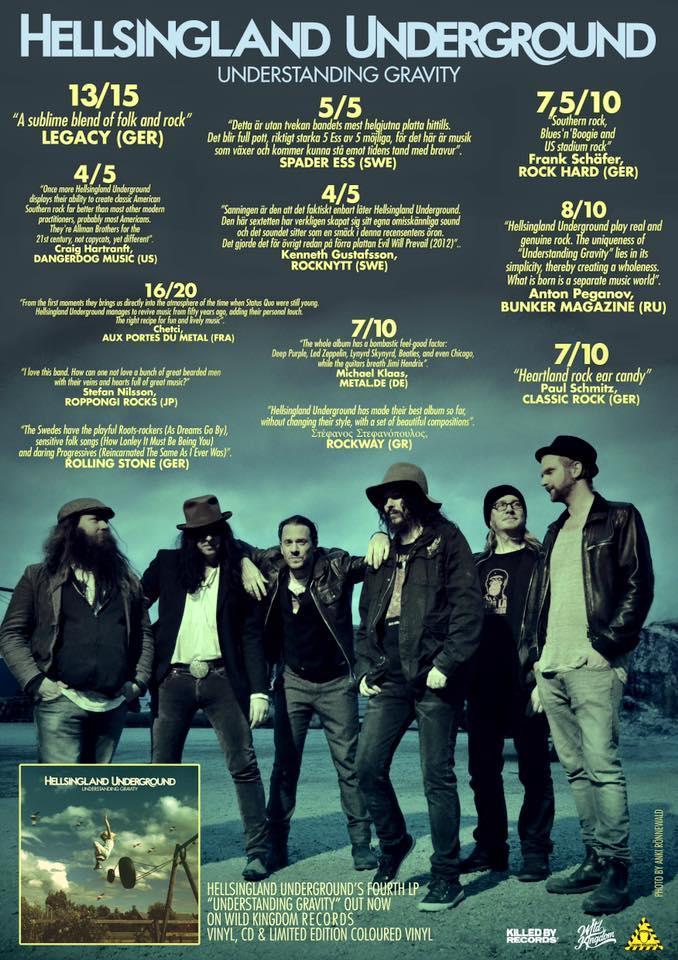 Hellsingland underground, review, poster, understanding gravity